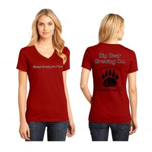 big-bear-womans-vneck-red